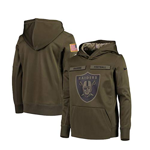 new concept 61015 ba679 raiders salute to service hoodie