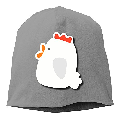 Fashion Solid Color White Bird Head Cap For Unisex DeepHeather One Size