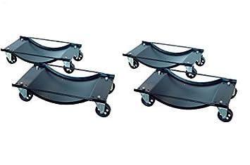 Patines para ruedas de coche Dirty Pro Tools ™, 4 unidades, 450 kg de carga cada uno: Amazon.es: Coche y moto