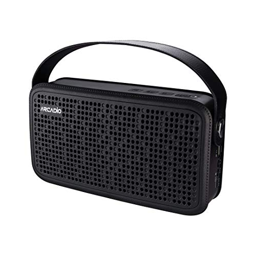 ARCADIO Thunder Portable Bluetooth Wireless Stereo Speakers for Mobile/Tablet/Laptop Speaker Black