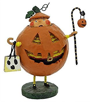 Lori Mitchell Halloween Figurines (Lori Mitchell Jack Squash)