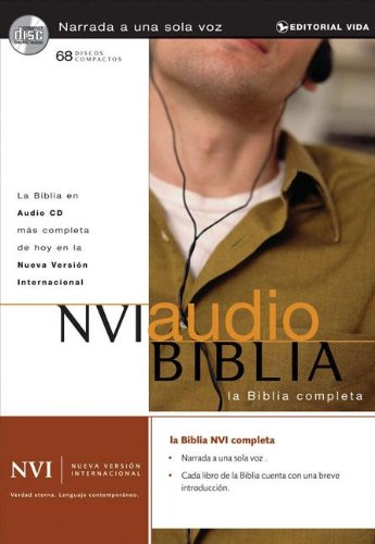 NVI Audio Biblia (Spanish Version of NIV) (Spanish Edition) by HarperCollins Christian Pub.