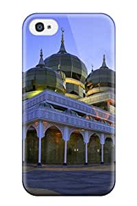 Hot For Iphone Protective Case, High Quality For Iphone 4/4s Masjid Kristall Skin Case Cover