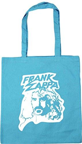 Surf Gym Zappa Bag Shopping Blue x38cm 42cm 10 Tote HippoWarehouse Beach Frank litres AInqpYPx