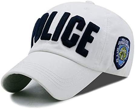 TDPYT Adulto Y Niño Gorra De Béisbol De La Policía Bordado De ...