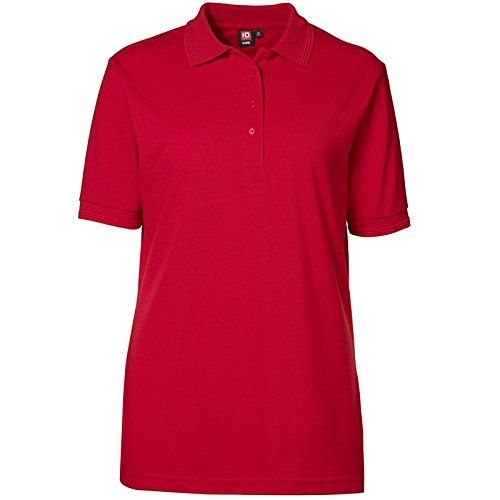 """Pionier 47110-M Klassisches Poloshirt 521"""" Größe M, Rot, M"""
