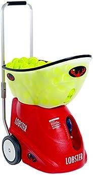 Lobster Sports EL05 Elite Grand V Portable Tennis Ball Machine (21x14x20-Inch)