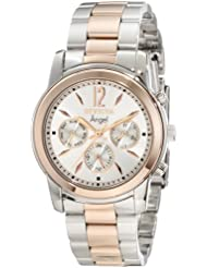 Invicta Womens 11736 Angel Silver Dial Two Tone Stainless Steel Watch