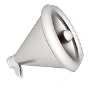 alfombrilla de ratón Altavoz como icono de anuncio. Ilustración en blanco - ronda - 20cm