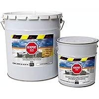 Revepoxy Deco–pintura epoxi decorativa para suelo de salón