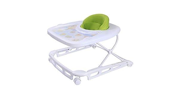 Zxllyntop Andador Empuje Plegable del bebé Walker T-Tipo Ajustable ...