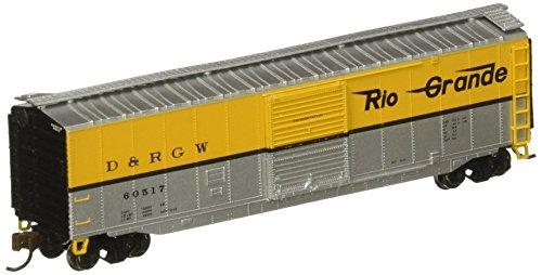 Bachmann Industries 50' Sliding Door Box CAR- Rio Grande -N Scale ()