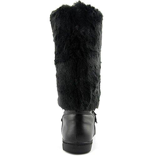 Cold Mid Concepts INC Fur Toe Faux SOFFY Closed Wea International Calf Womens Black F8qwx5v8