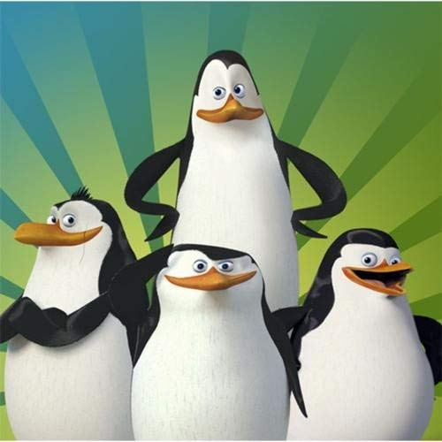 Penguins of Madagascar Beverage Napkins (16 ct) -