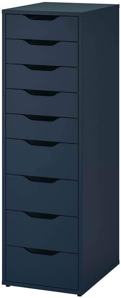 ALEX blue, Drawer unit on castors