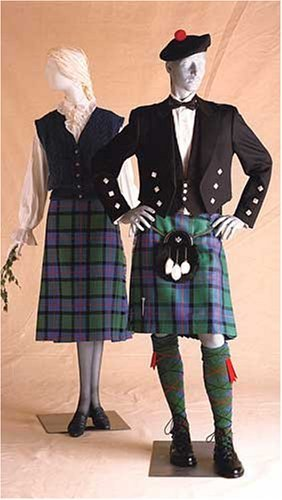 Folkwear 152 - Prince Charlie Jacket and Scottish Kilts Pattern for Men and Women