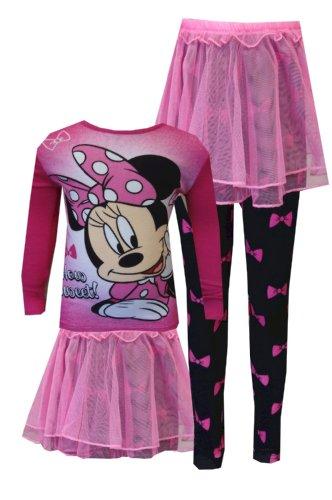 WebUndies Girls Disney Minnie Pajama