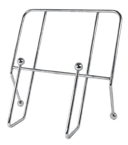 Premier Housewares Chrome Wire Cookbook Stand, Ball Ends by English Gifts
