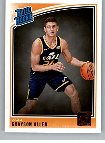 2018-19 Donruss Basketball #156 Grayson Allen Rated Rookie RC Utah Jazz Official Panini NBA Trading Card