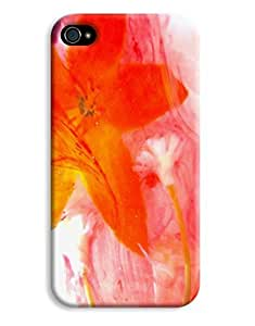 Floral Wash For Apple Iphone 5/5S Case Cover