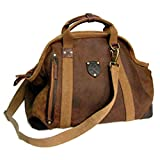 Kakadu Traders Traveller Series Large Doctor's Bag, made from Genuine Leather