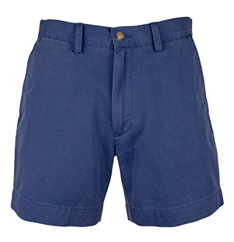 Polo Chino Shorts (Polo Ralph Lauren Mens Solid Classic Fit Chino Shorts Blue 40)