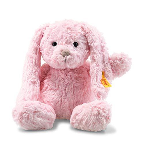 (Steiff Soft Cuddly Friends Tilda Bunny Rabbit, Pink, 11 Inches)
