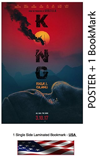 Kong Skull Island  - Movie Poster, Size: 24 x 36""