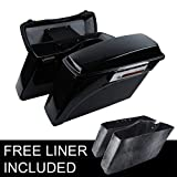 XFMT Painted Hard Saddle bags Trunk &Lid Latch Key Compatible with 94-13 Harley Touring Road King