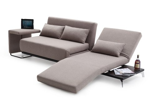 J&M Furniture Premium Sofa Bed JH033 with End Table