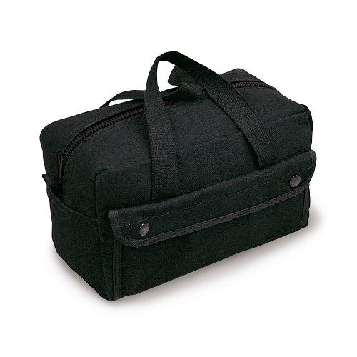 (Stansport Mechanics Tool Bag, Black)