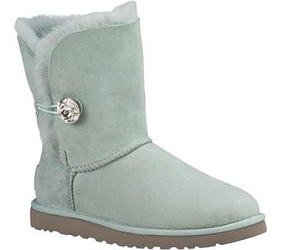 e646b9e16960 UGG - Boots BAILEY BUTTON BLING - 3349 - ice, Size 42  Amazon.co.uk ...