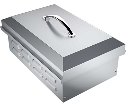 bbq island cover with side burner - 3