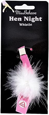 Novelty Whistle Pink for Hen Stag Party Night