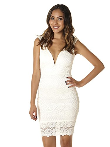 ivory lace bridal shower dress - 4