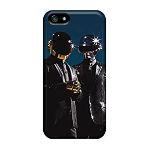 Premium Protection Classy Daft Punk Case Cover For Iphone 5/5s- Retail Packaging
