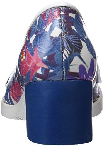 Art 0079f Fantasy Bristol, Scarpe Col Tacco Punta Chiusa Donna Multicolore (Hawai)
