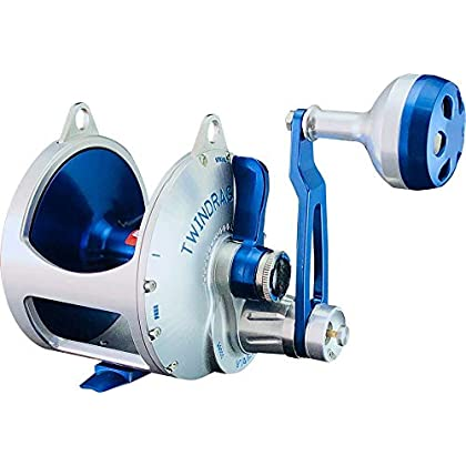 Image of Accurate Boss Valiant 1000 2 Speed Silver/Blue Reels