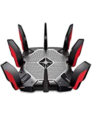 TP-Link WiFi 6 AX11000 Gaming Router (Archer AX11000) - 802.11ax Router, 2.5 Gbps Port, Tri-Band AX Router, 12-Streams, Beamforming, MU-MIMO, OFDMA, USB Ports