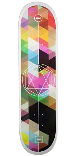 Bamboo Skateboards Sutsu Geometricity Graphic Skateboard Deck, 8
