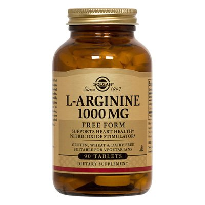 Solgar L-Arginine 1000mg - 90 - Tablet