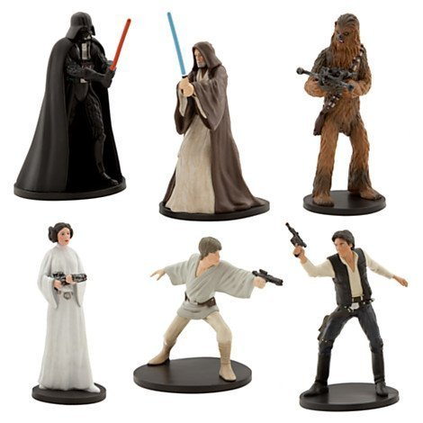 (Disney Parks Exclusive Star Wars Epidode IV A New Hope Playset Collectible Figurines Figures Set)