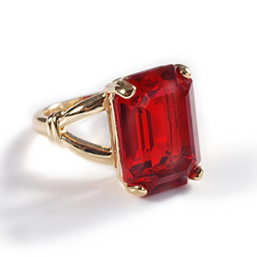 Elvira's Magic Ruby Ring (7) - Almost Costume Famous