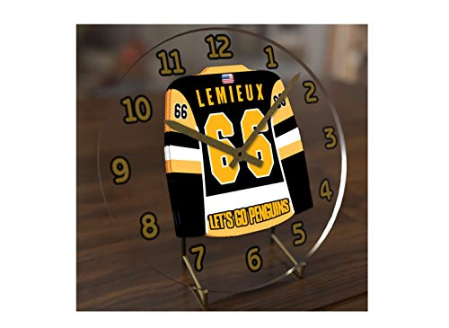 (USA Hockey Legends Table Clocks - 7