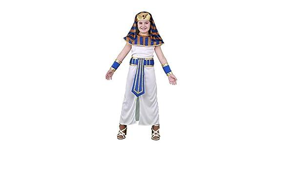 Disfraz de Faraona para niñas en varias tallas: Amazon.es: Ropa y ...