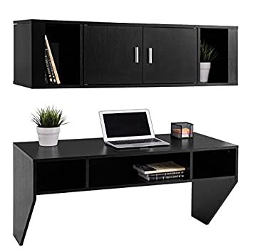 Amazon.com: Wall Mounted Floating Storage Cabinet Computer ...