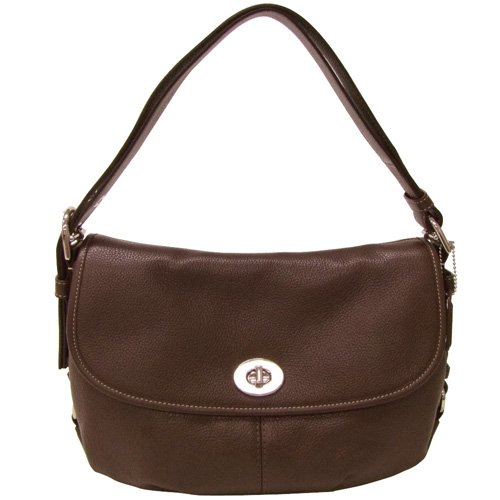 Coach Brown Leather Duffle Bag - 5