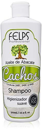 Cachos Shampoo Azeite de Abacate 500 ml, Felps, 500ml