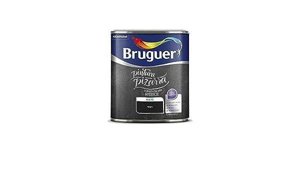 BRUGUER PINTURA PIZARRAS 0,750 LT. (Azul): Amazon.es ...