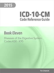 ICD-10-CM Code Reference Guide: Book 11: Diseases of the Digestive System: Codes K00 Through K95